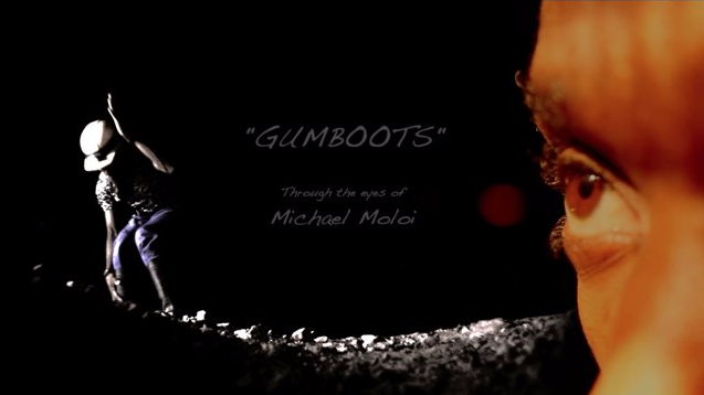 """Thumbnail of the documentary GUMBOOTS"""" Through the eyes of Michael Moloi"""